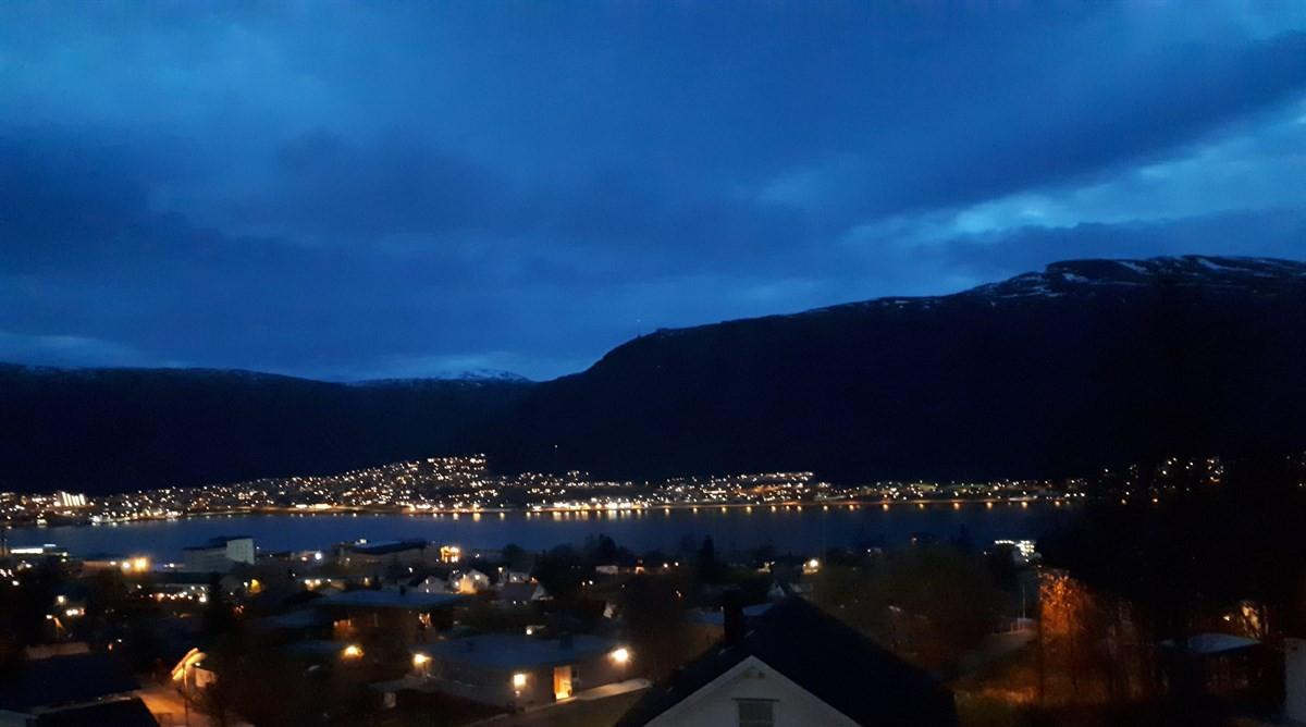 Privat bilde av utsikt, kveldstid