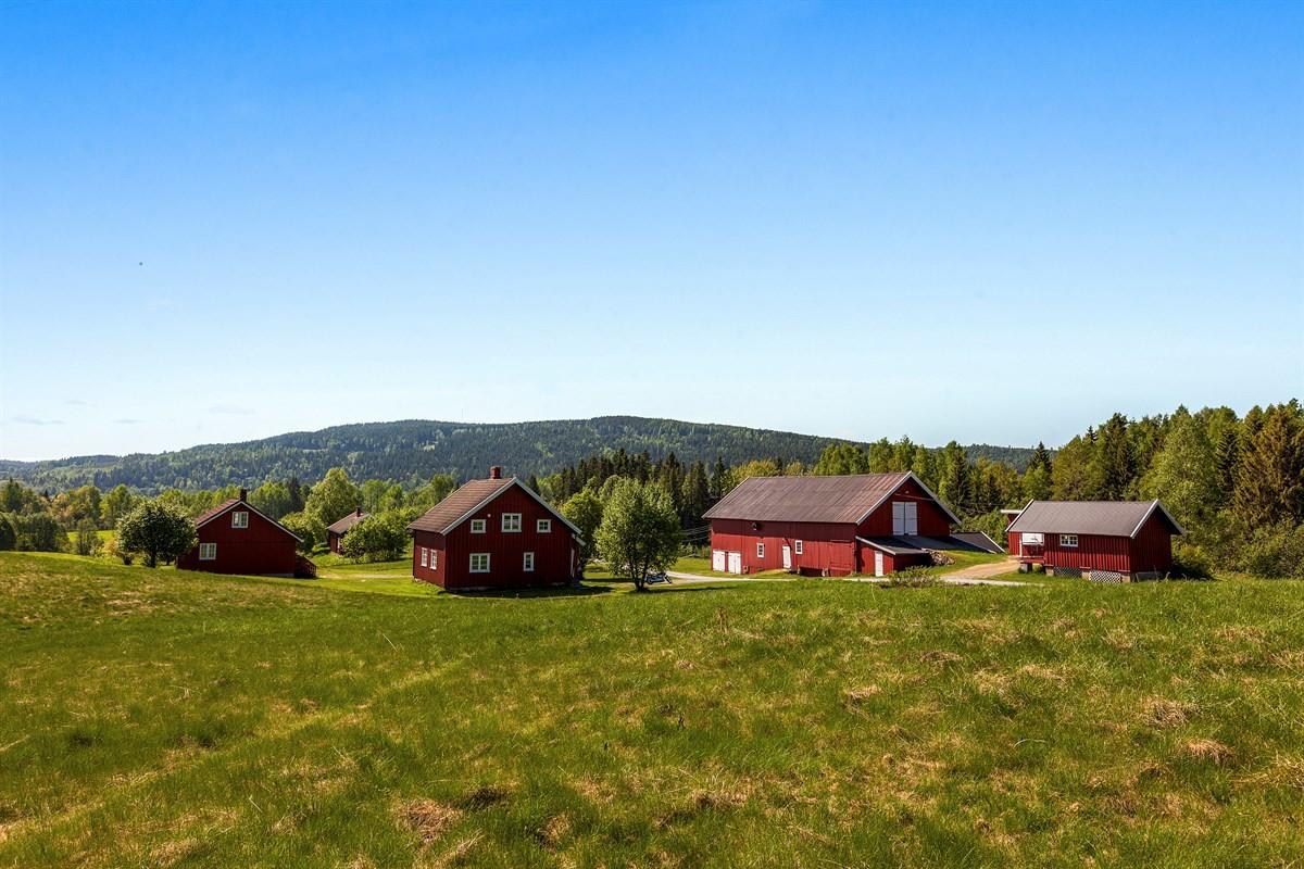 Velkommen til Berg gård - Herlig småbruksidyll i hovedstaden, med velholdt våningshus, låve, anneks og dobbelgarasje - Presentert av Stian Holmen-Jensen