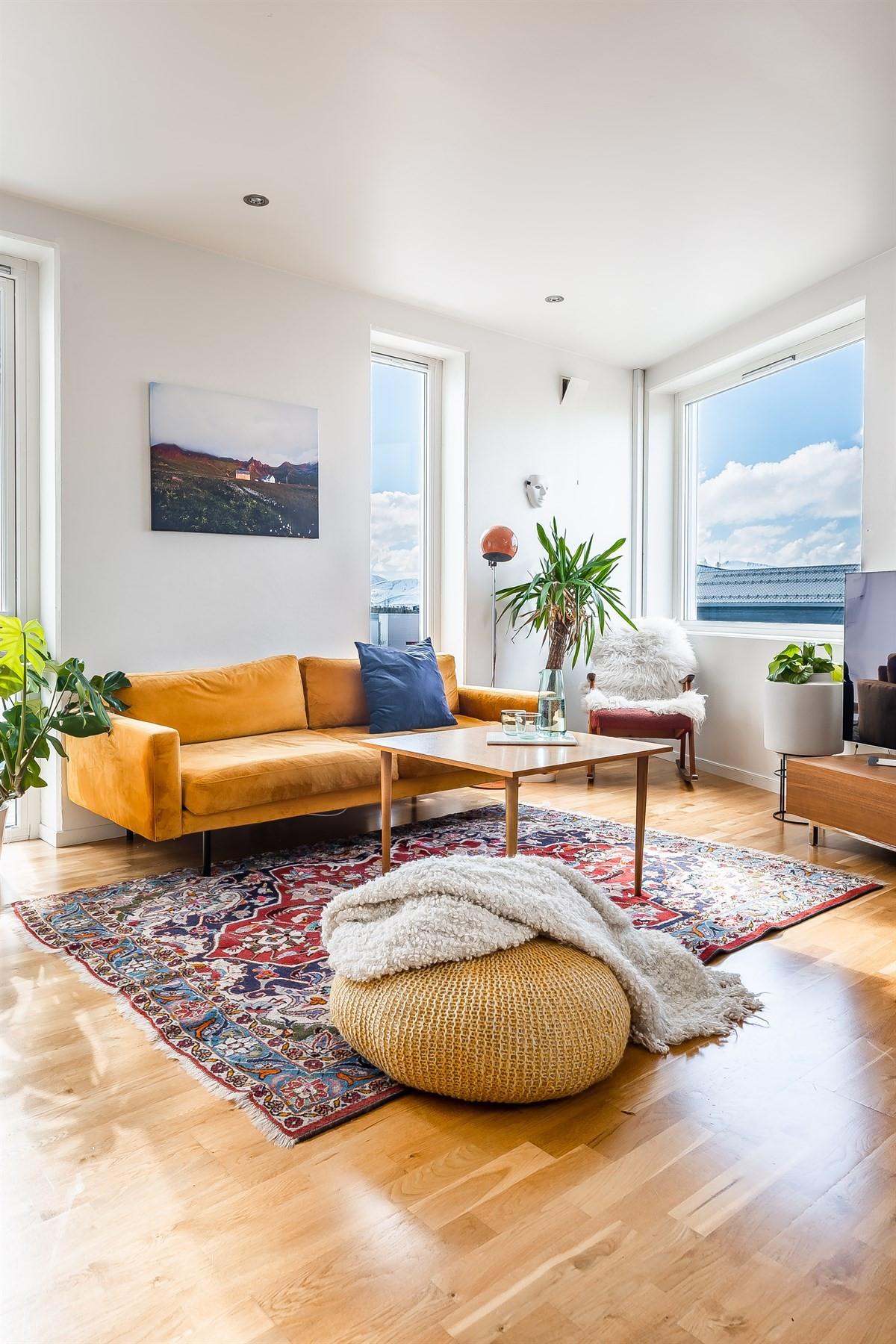 Velkommen til Sparre Schneiders veg 1A beliggende på toppen av Tromsøya!