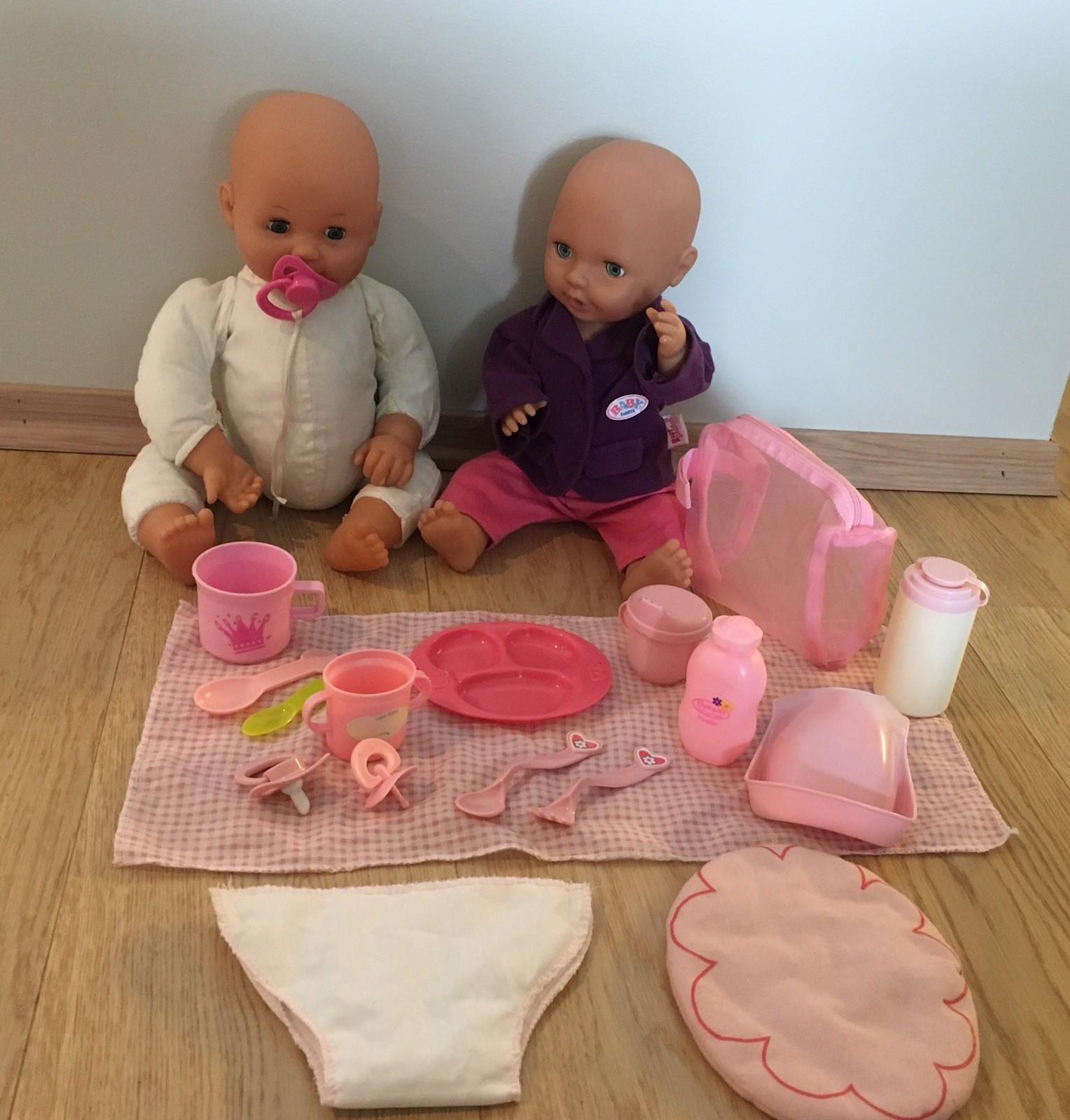 dd7fb745 2 Baby born dukker med div klær og tilbehør.   FINN.no