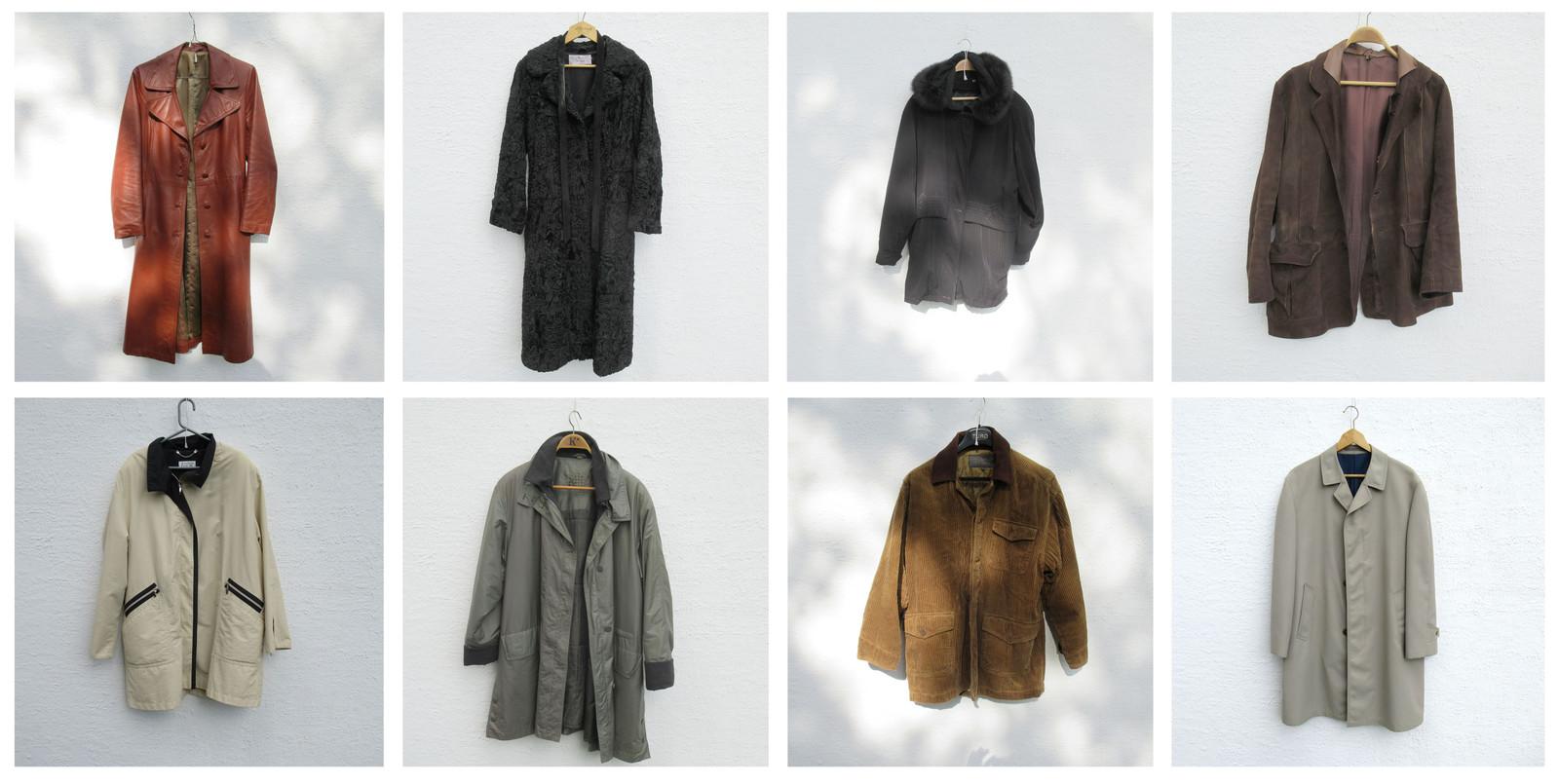 cf68ed2b 8 ulike jakker og frakker og en pels (1/28)