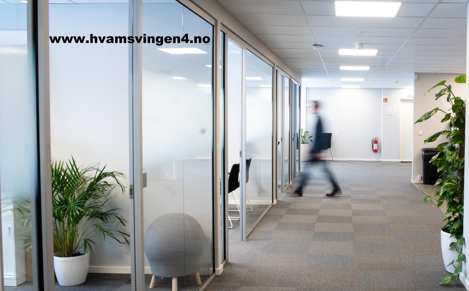 Moderne kontorlokaler med stor fleksibilitet og tilgjengelighet