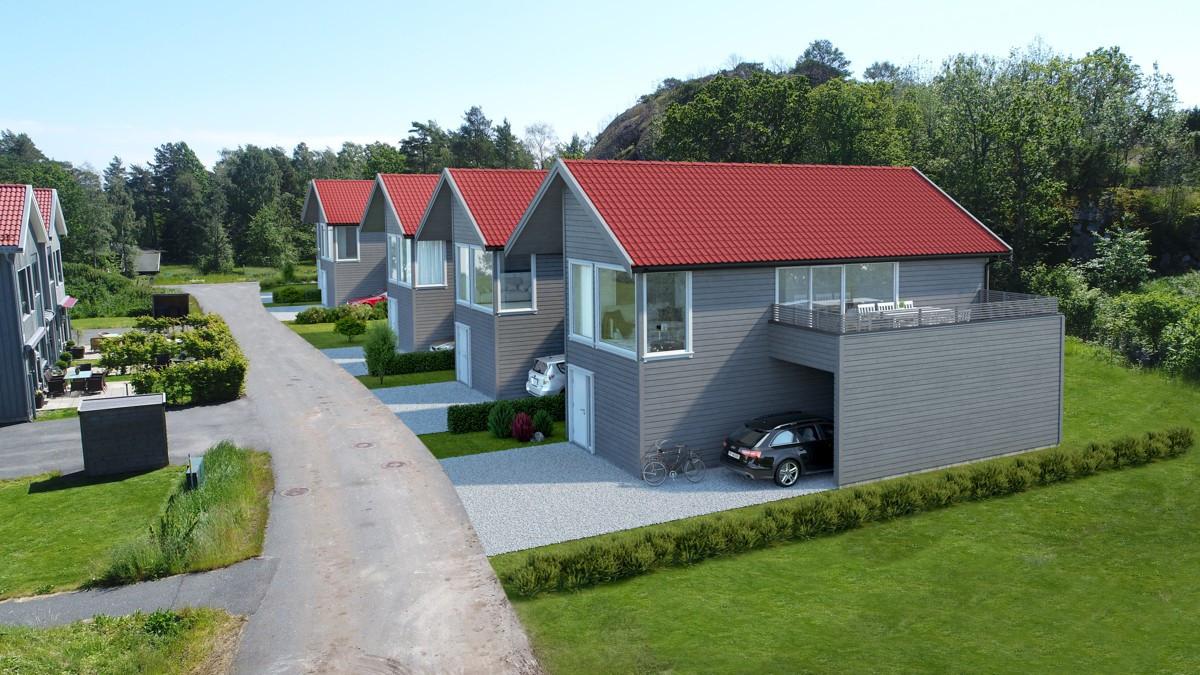 Rekkehus - stavern - 3 980 000 til 4 190 000,- - Leinæs & Partners