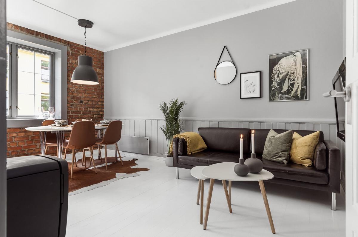 Velkommen til en sjarmerende 3-roms leilighet med god beliggenhet på Lademoen.