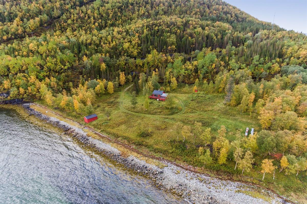 Velkommen til Kjettnesveien 343 - En fritidseiendom med stor boltreplass i vakre naturomgivelser.