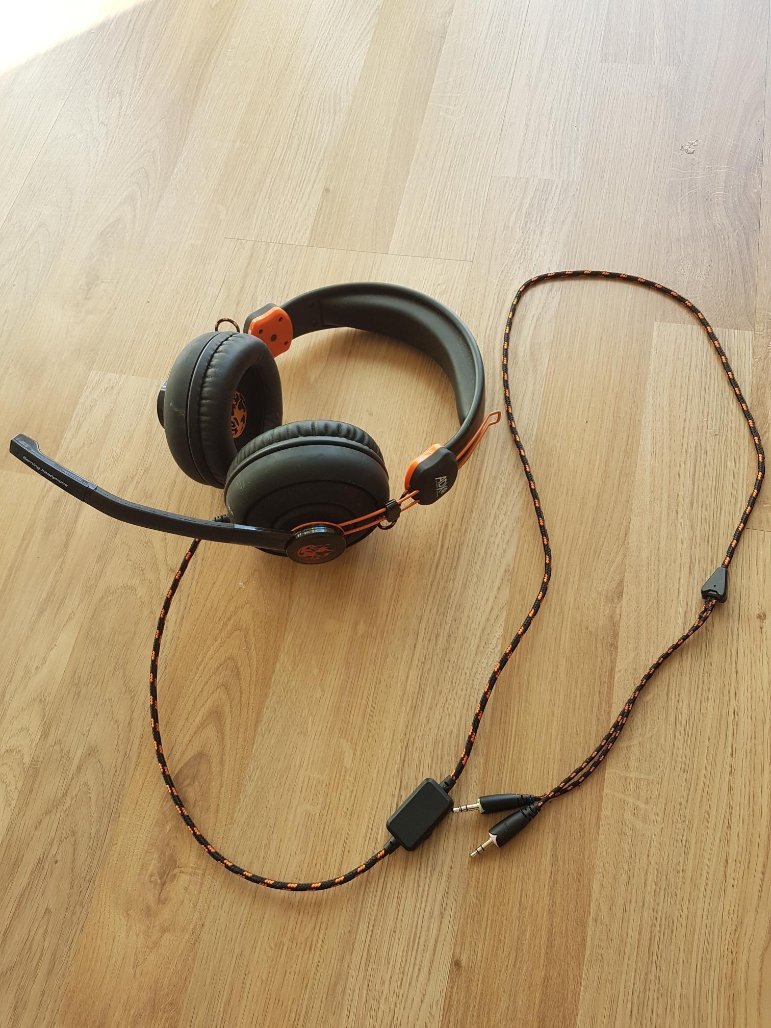ADX Firestorm A01 gaming headset  | FINN no