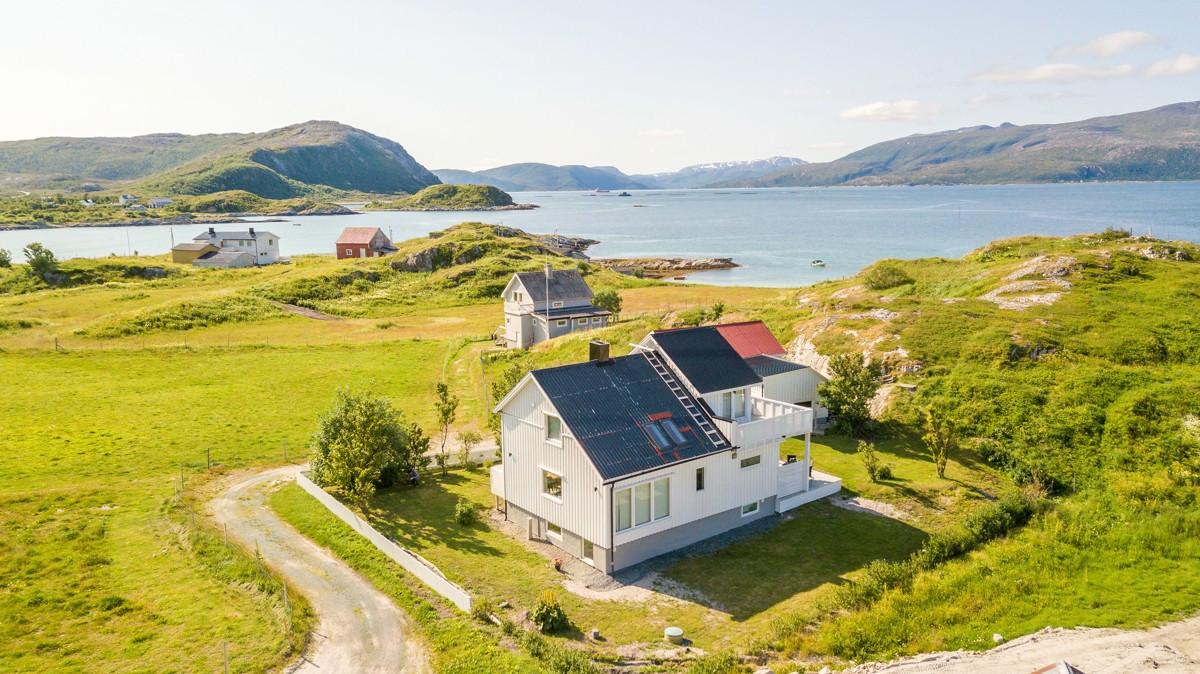 Landlige omgivelser og veldig gode lys- og solforhold