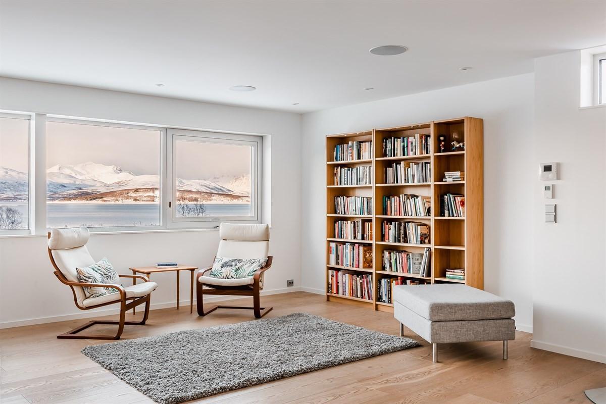 Lesehjørne/bibliotek