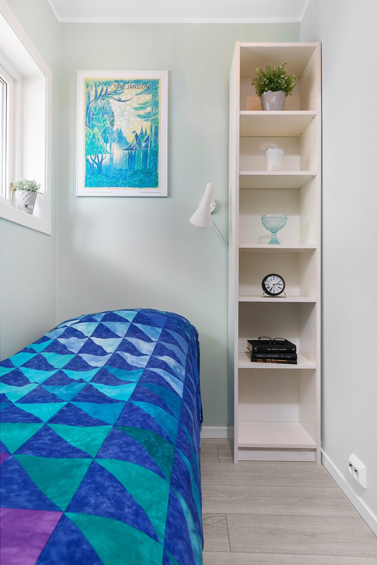 Bod/innredet rom på ca. 4 kvm som kan bli et fint kontor, gjesterom, Walk-in closet