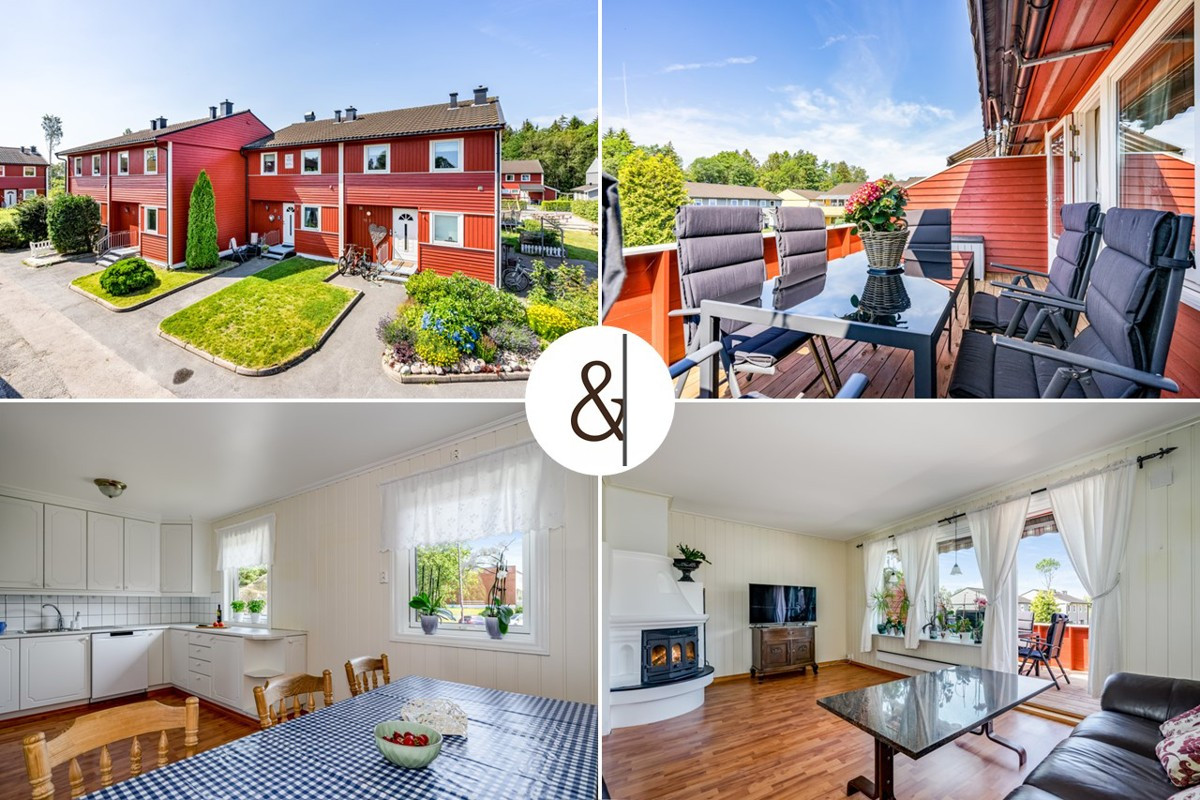 Rekkehus - stavern - 2 400 000,- - Leinæs & Partners