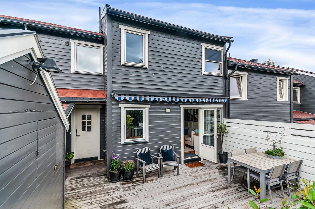 Rekkehus - langhus - 4 100 000,- - Sydvendt & Partners