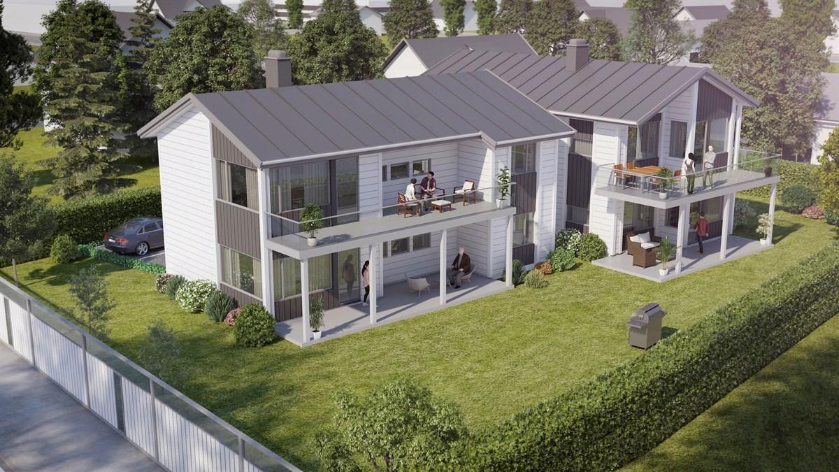 Leilighet - larvik - 3 725 000 til 3 790 000,- - Leinæs & Partners