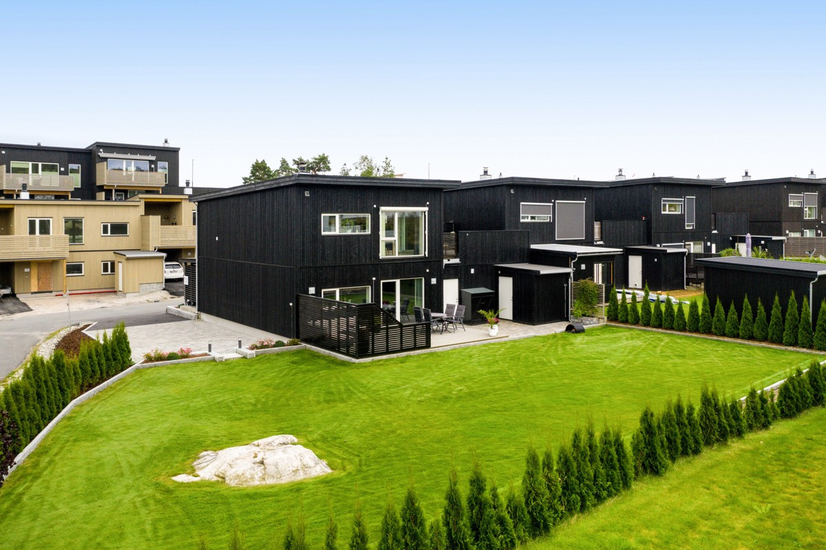 Rekkehus - gressvik - 5 100 000,- - Møller & Partners