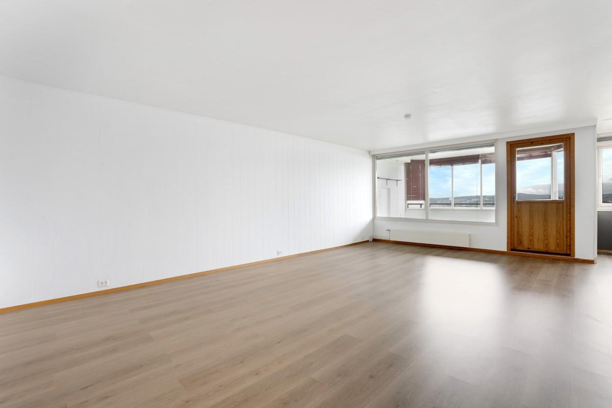Romslig leilighet med vinterhage og flott utsikt i fra øverste etasje!