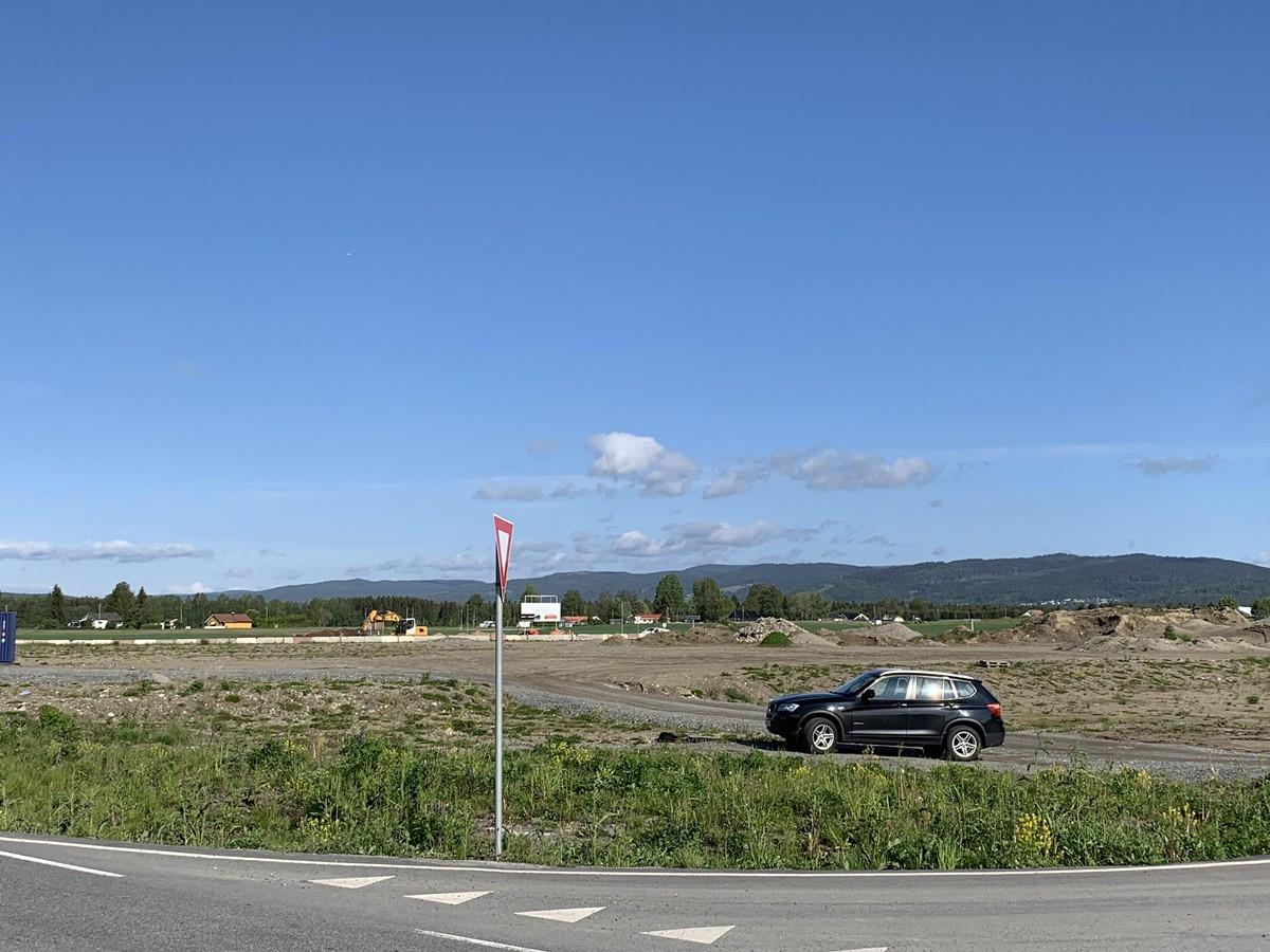 Aurvegen 2 - Byggeklar tomt med flott beliggenhet i Gardermoen Vest Næringspark