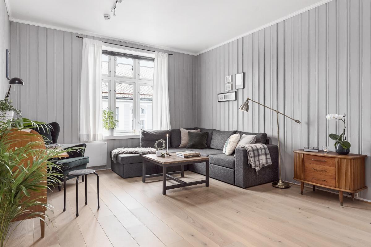 Velkommen til en flott 2-roms leilighet med god beliggenhet på Møllenberg.