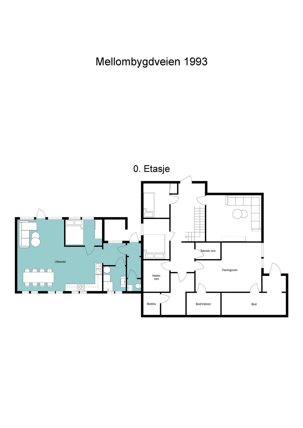 Planskisse 0 etasje