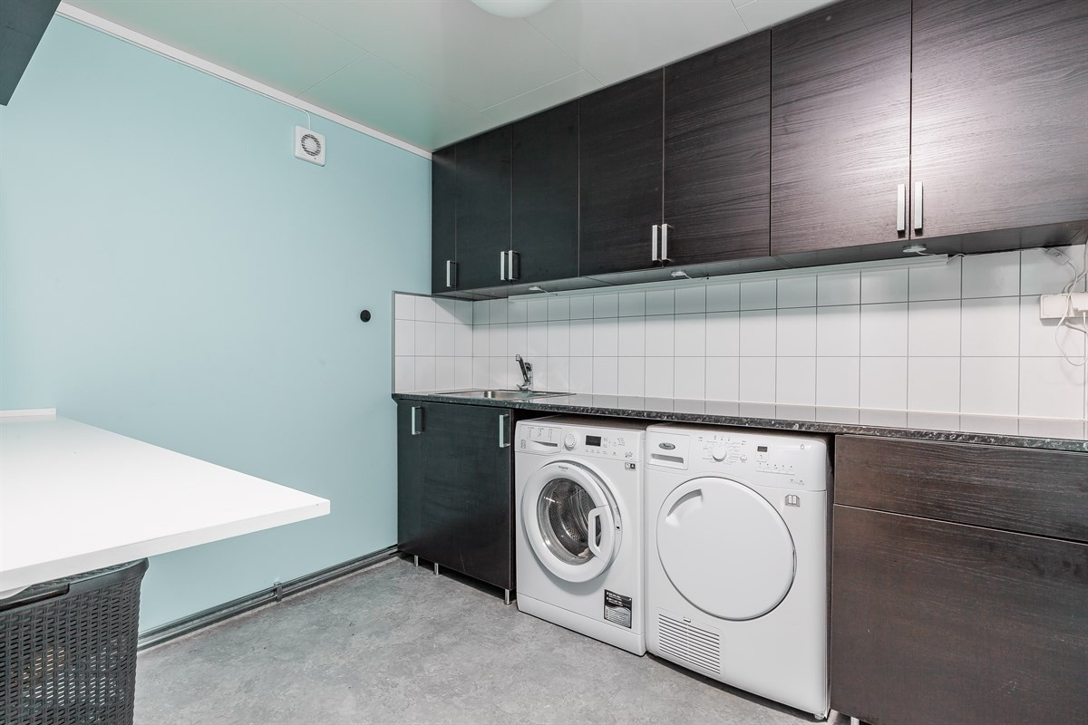 Stort moderne vaskerom