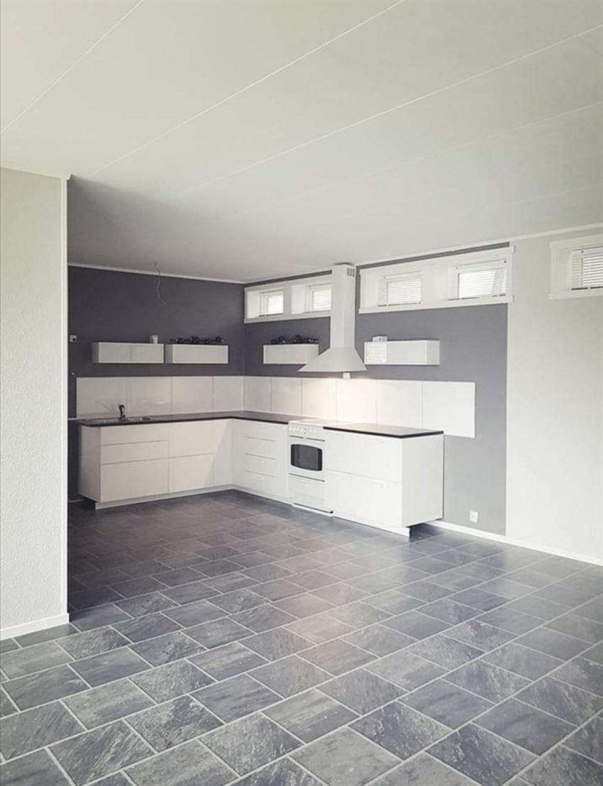 Kjøkken i utleiedel - Privat bilde