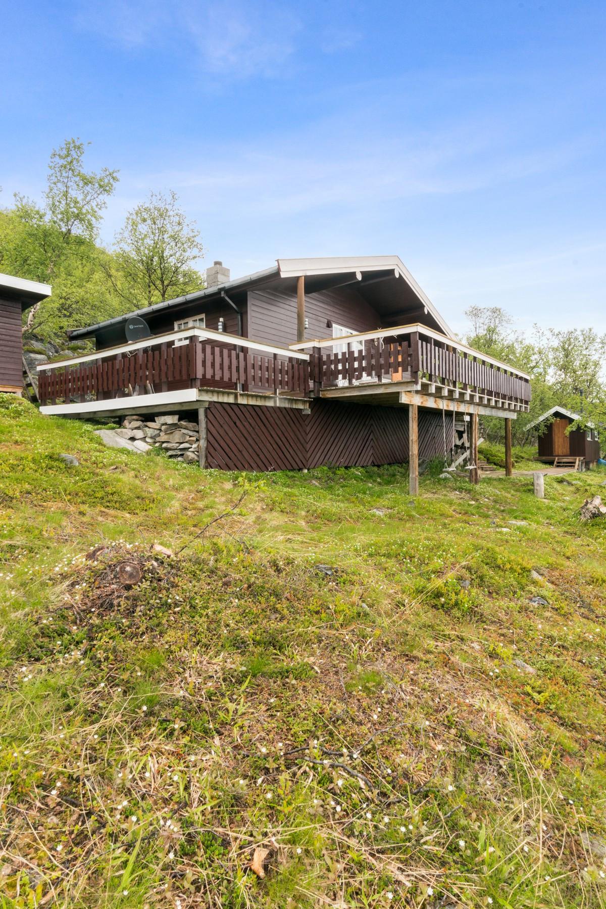 Maiken B. Paulsen v/Privatmegleren har gleden av å presentere denne flotte hytta!