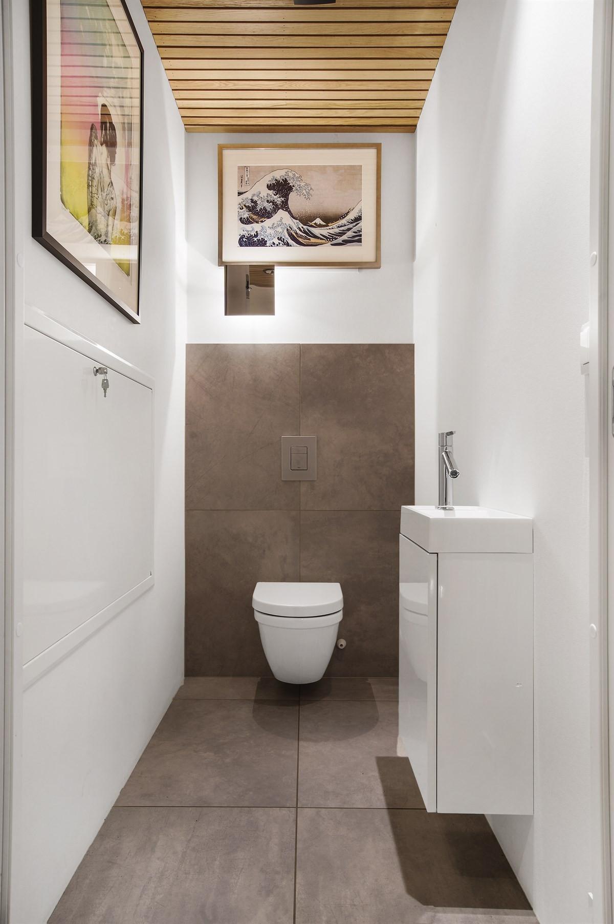 WC-rom i 1. etasje