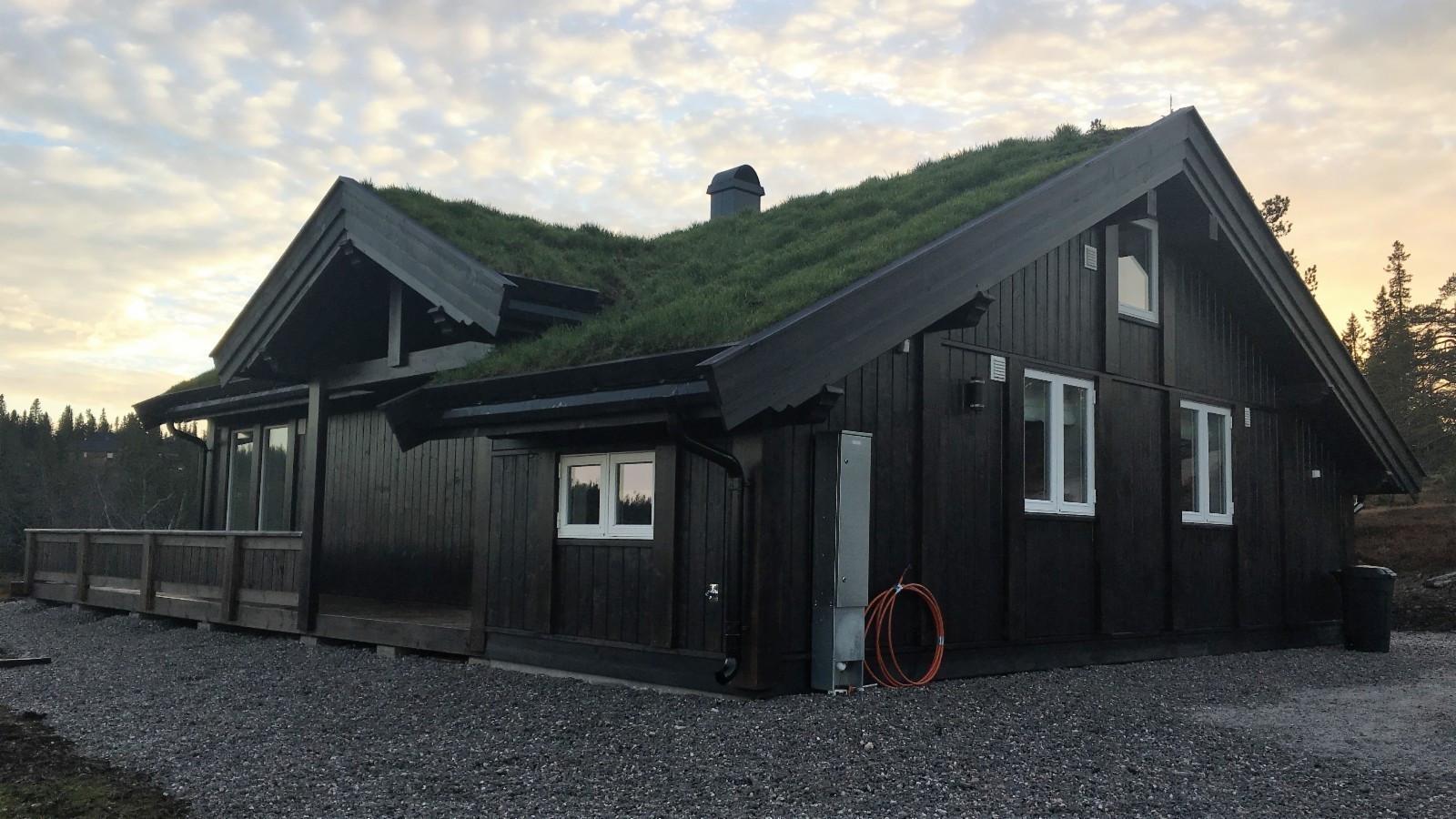 Bilde av hytten Buen hyttemodell SMÅROI PANORAMA L, planlagt oppført på Knaben