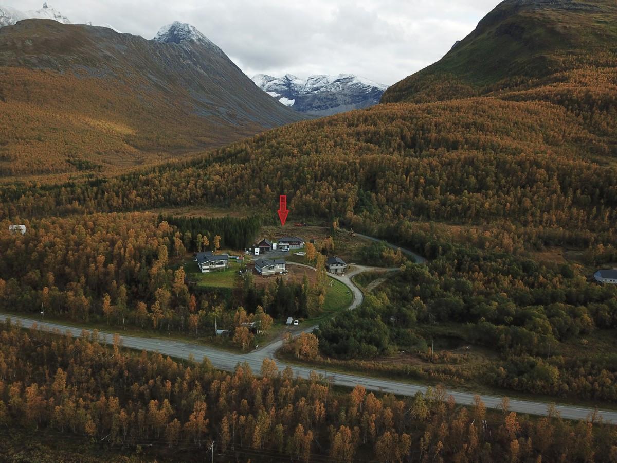 Stor boligtomt i landlige omgivelser