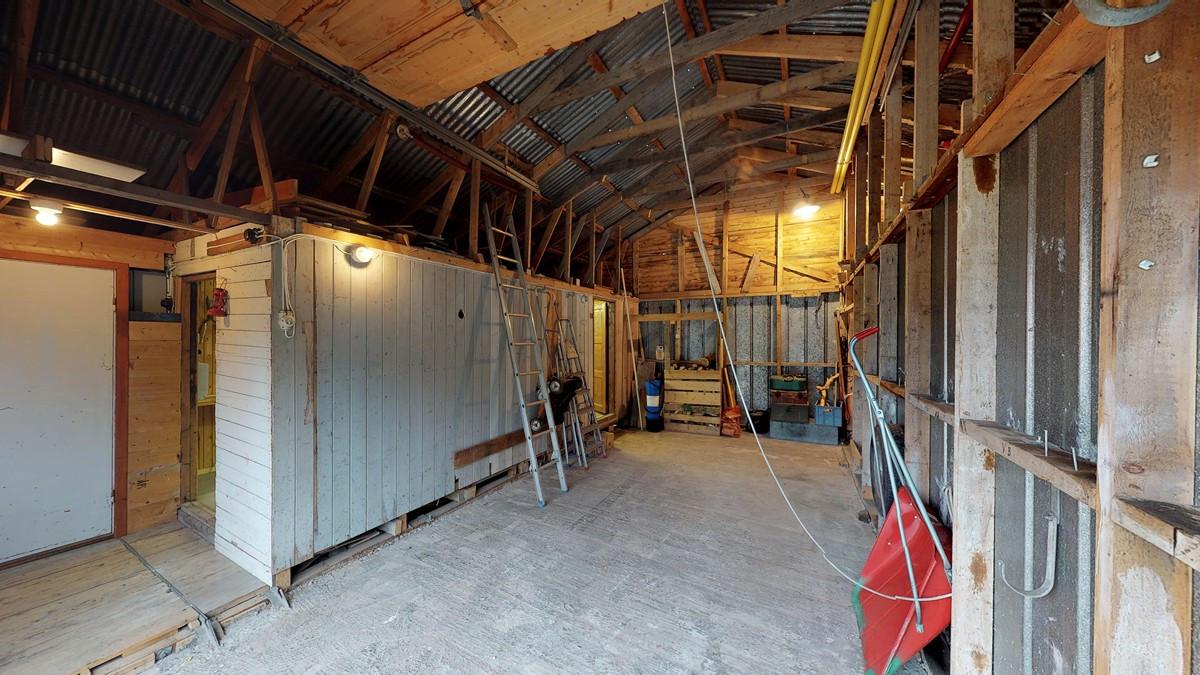 Innvendig garasje med plass til bobil