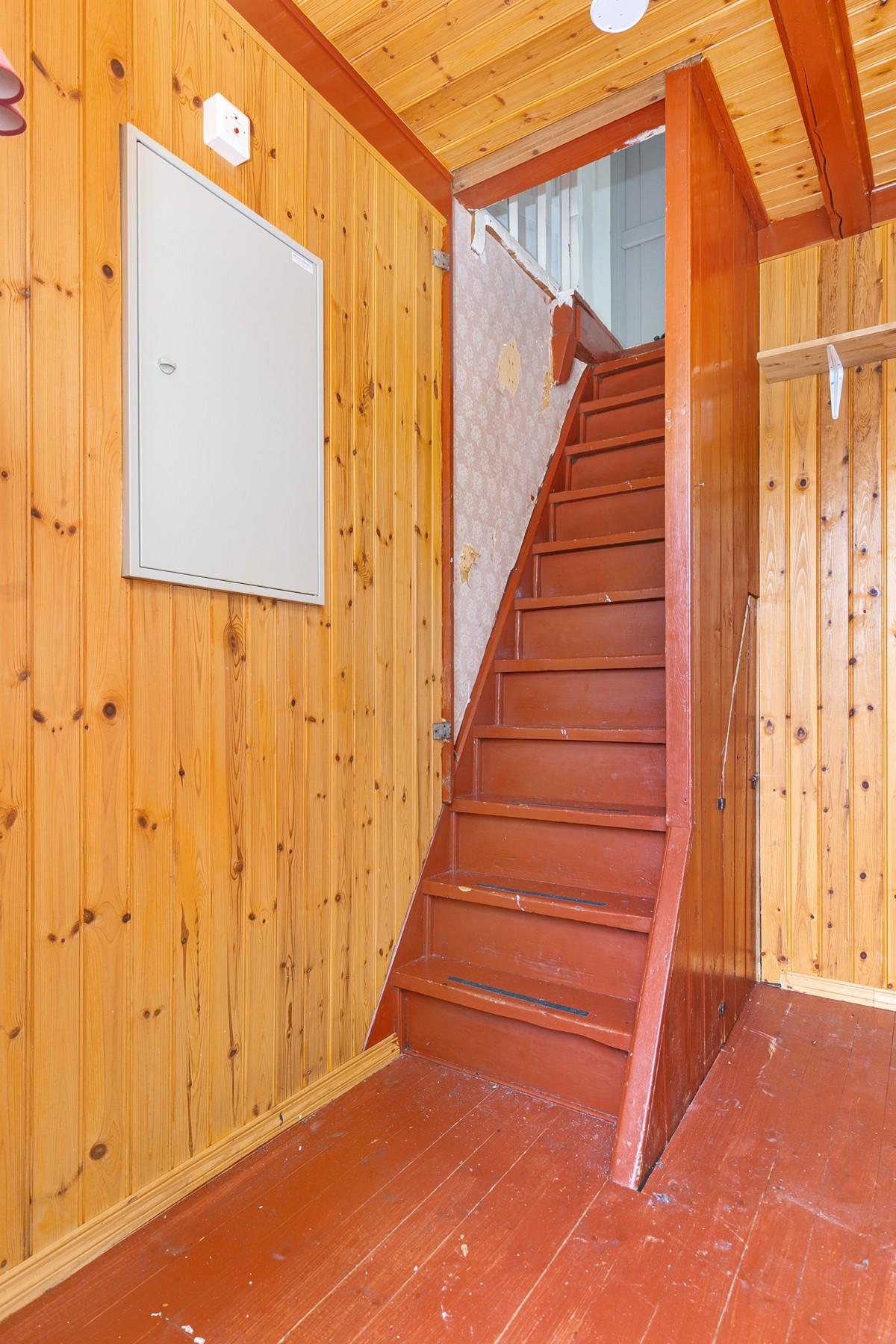 Sjarmerende trapp mellom etasjene