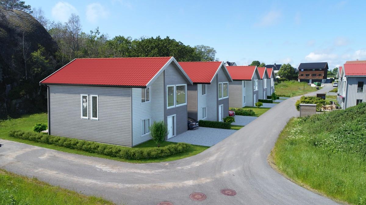 Rekkehus - stavern - 4 190 000 til 4 290 000,- - Leinæs & Partners