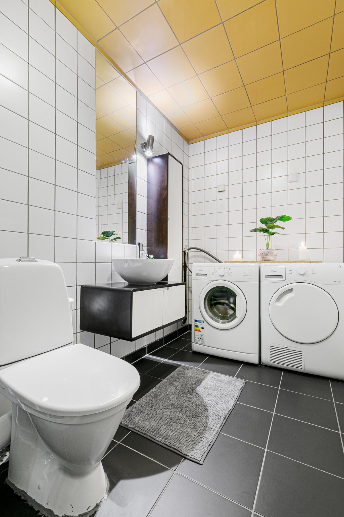 Opplegg til vaskemaskin