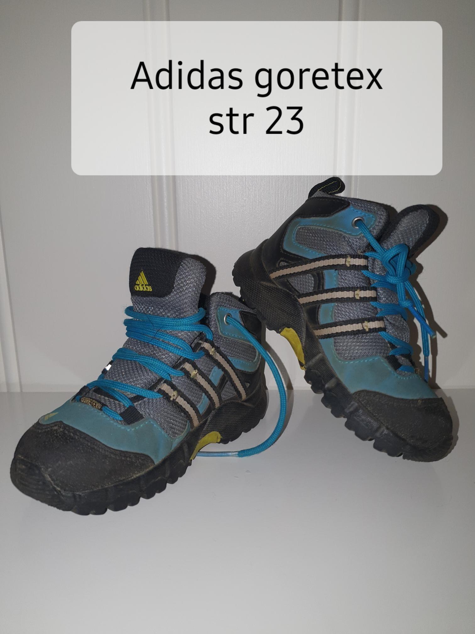 Adidas goretex str 23 | FINN.no
