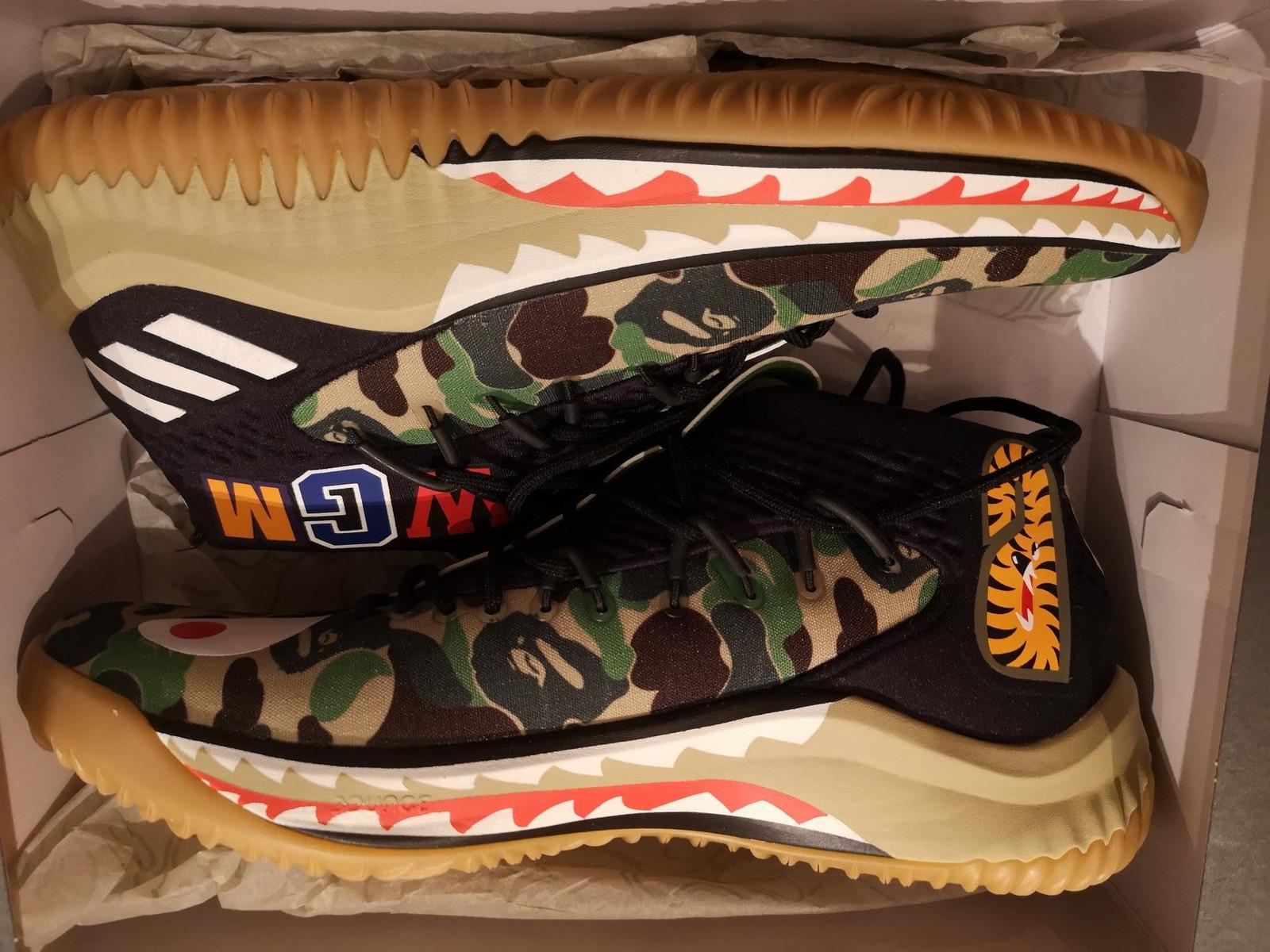 Adidas dame 4 x bape | FINN.no