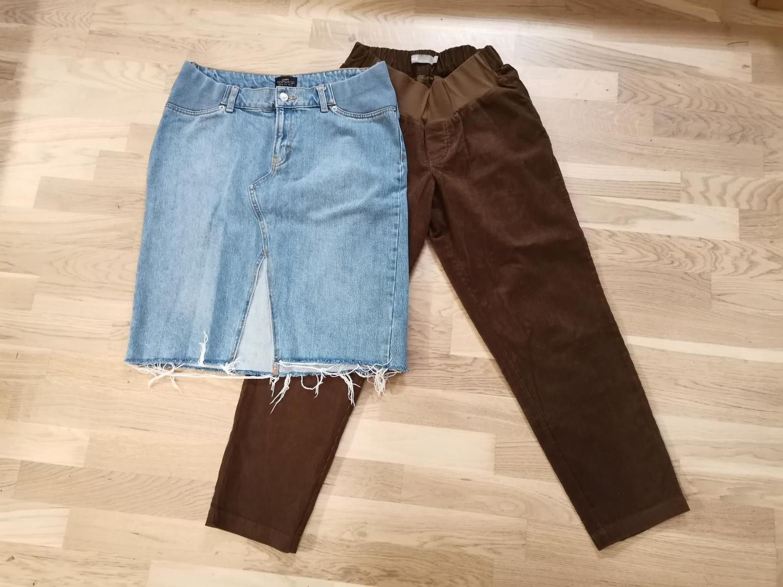 Mammaklær: bukser, skjørt, topp, strikkejakker   FINN.no