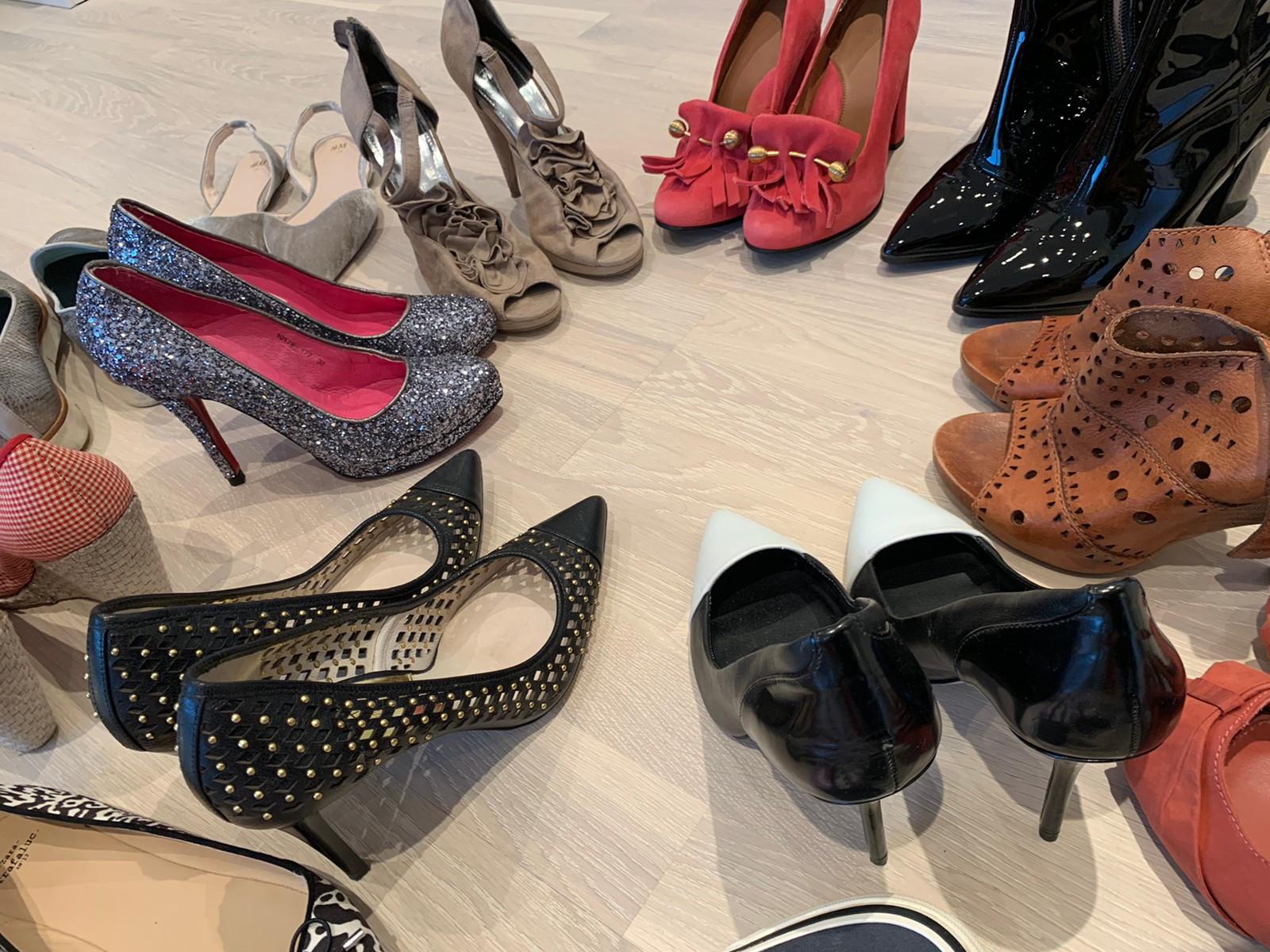 Nydelige sko kjøpt i Italia, aldri brukt