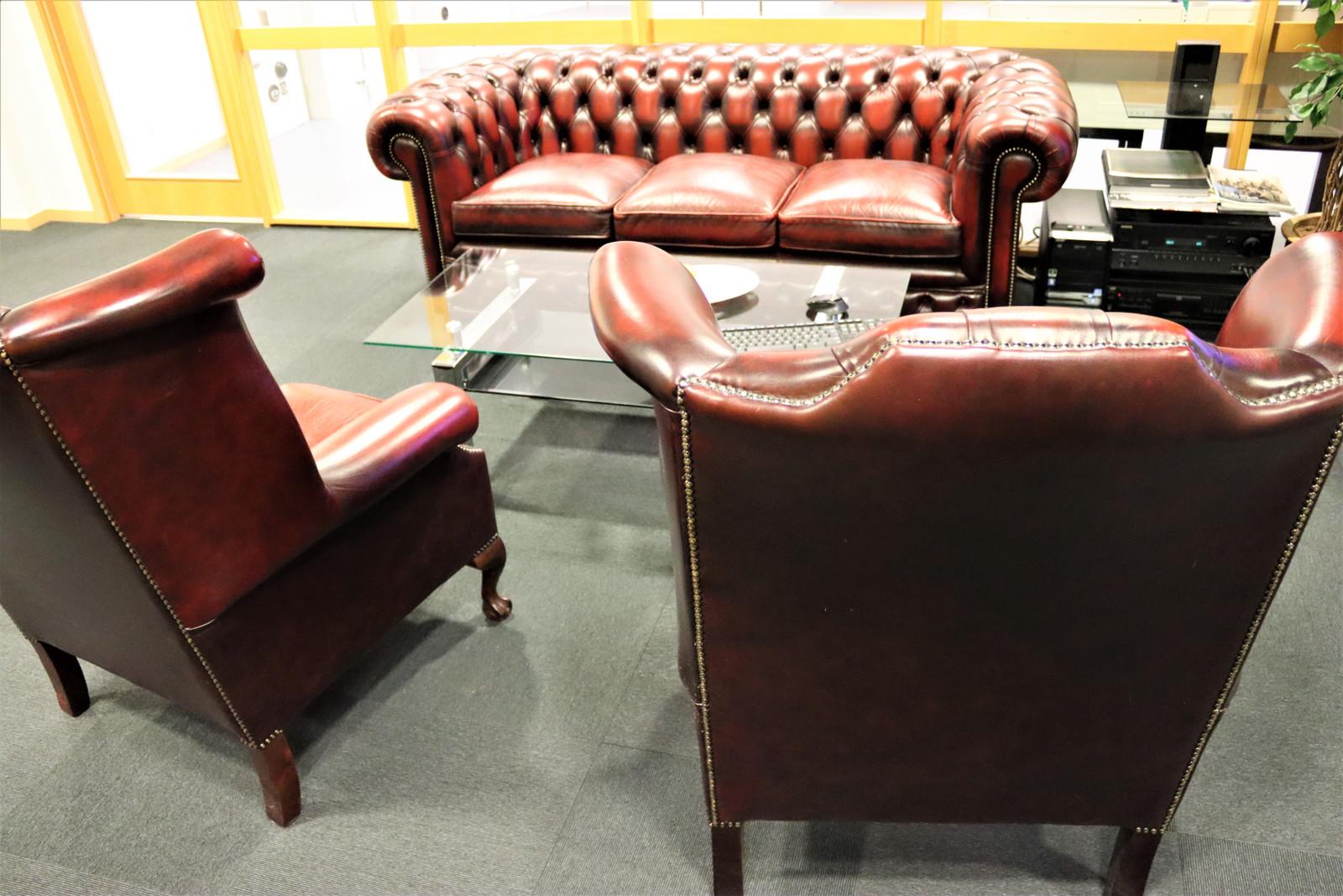 Churchill 3 seter sofa