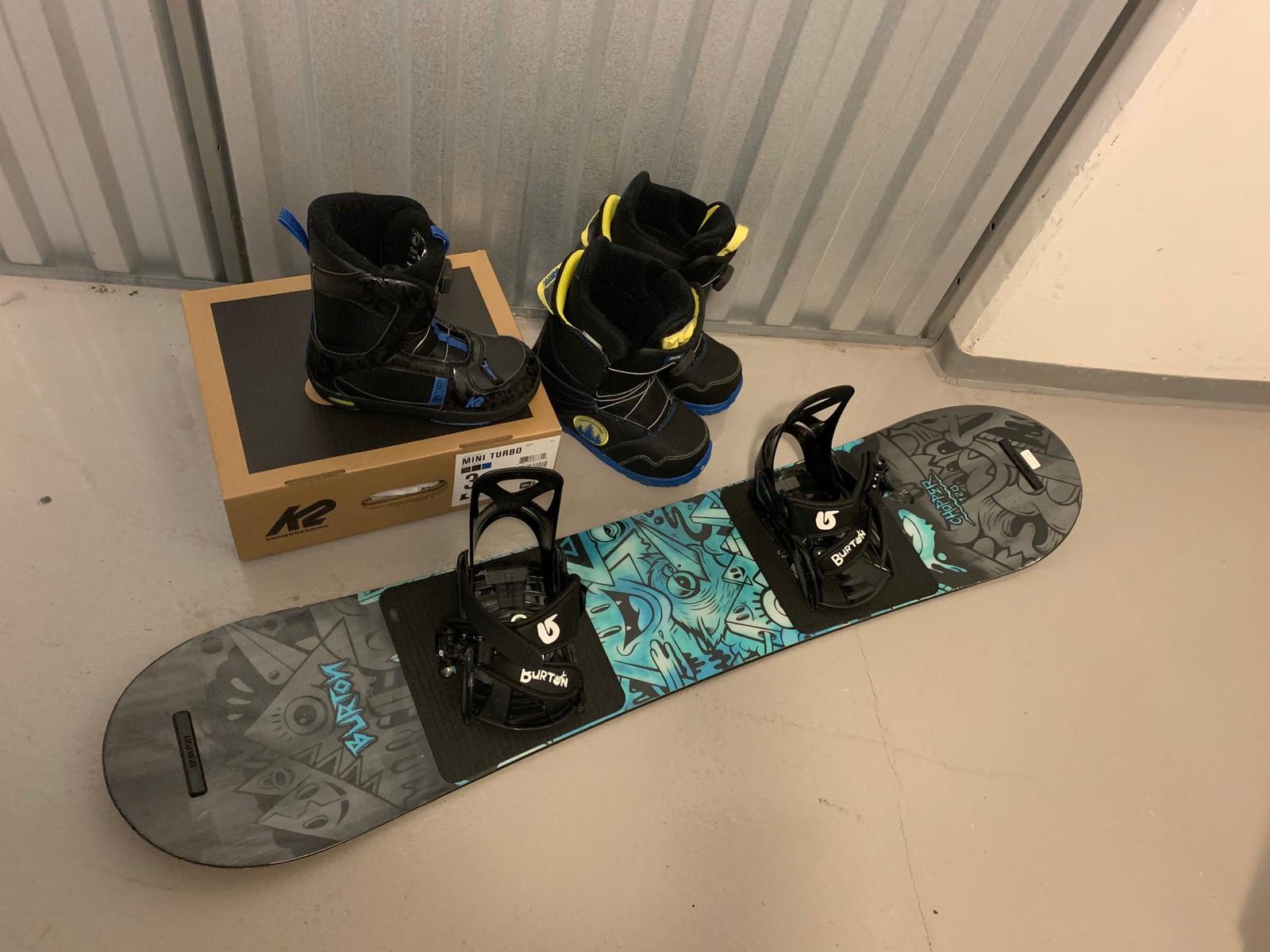 K2 Mini Boa Turbo barne Snowboard Støvel