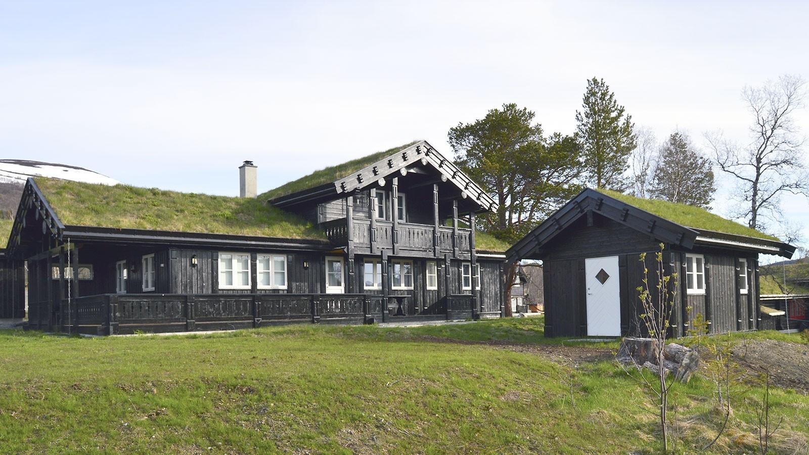 Sommer bilde av Buen Storodde XL. Kundebygget hytte.
