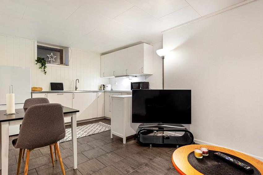 Arealeffektiv 3-roms leilighet med sentral beliggenhet