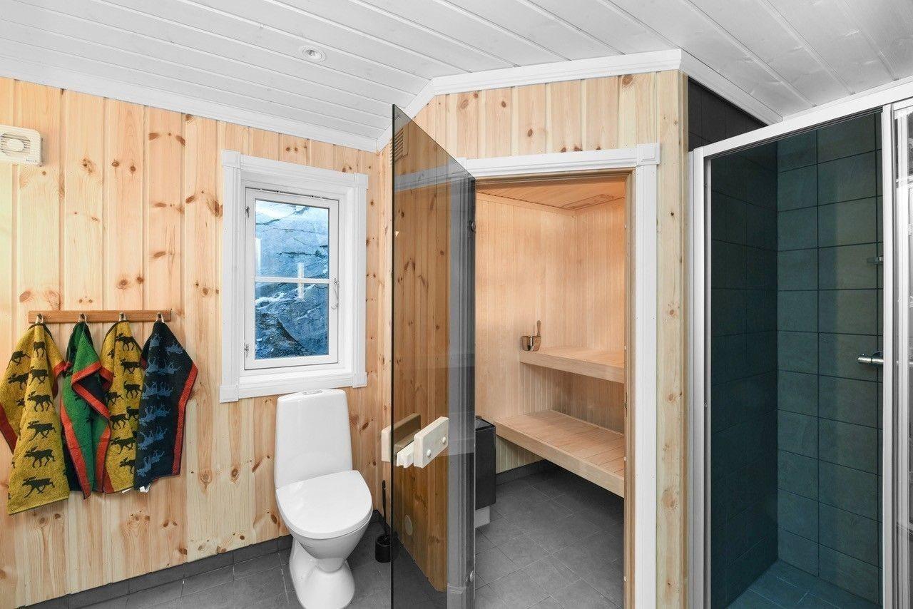 Bilde fra en Storodde hytte med kundetilpasninger (tilvalg)