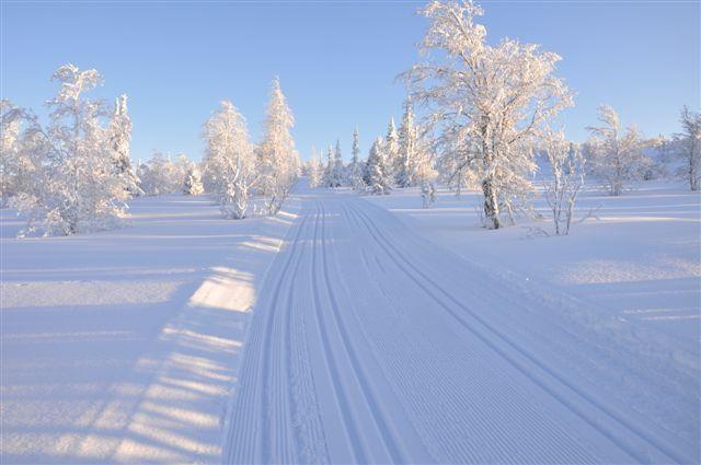 Fantastisk tilrettelagt for ski