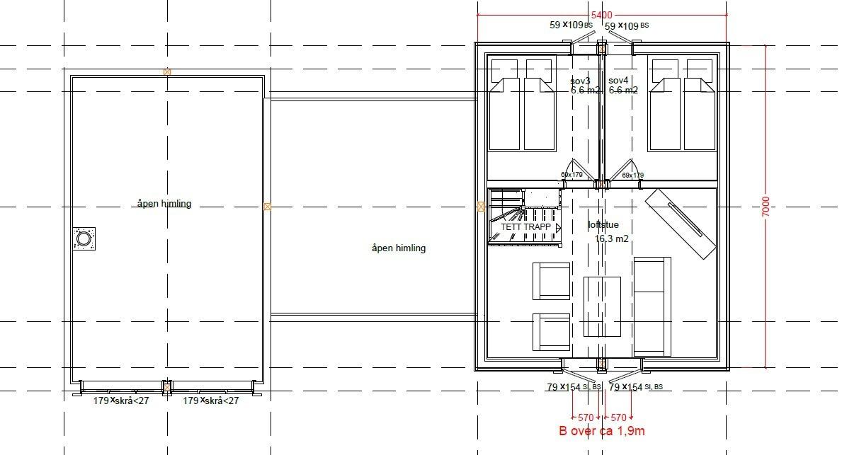 Høgtind er en ekslusiv hytte med høy materialkvalitet ute og inne. Lekker loftsstue på denne. Planløsning som er funksjonell for de fleste behov.