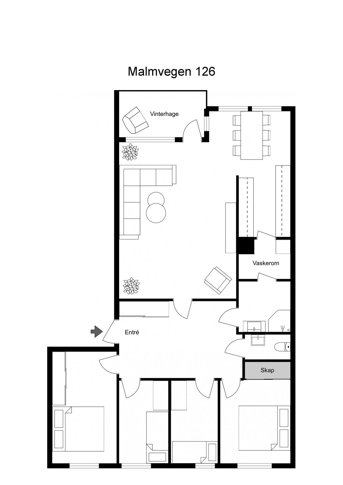 Malmvegen 126 - Planskisse (1 of 1)
