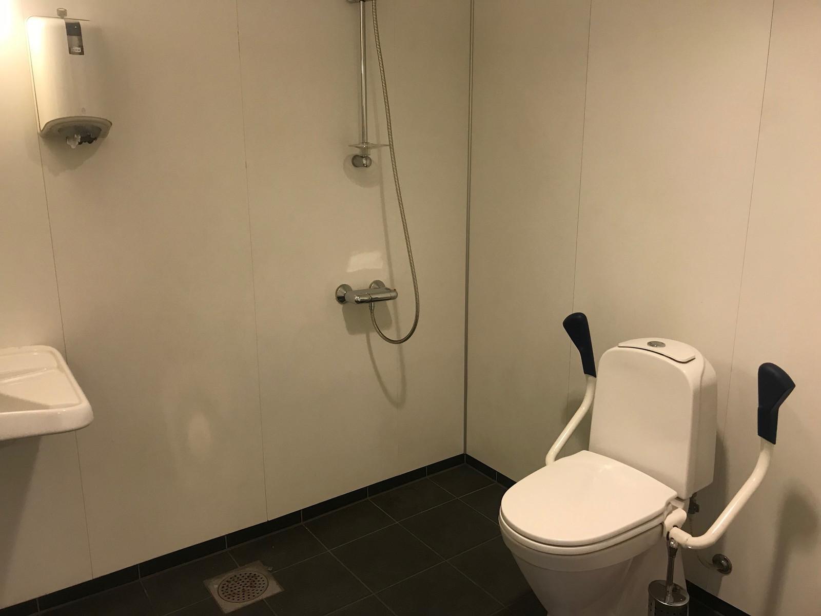 Toalett og dusj