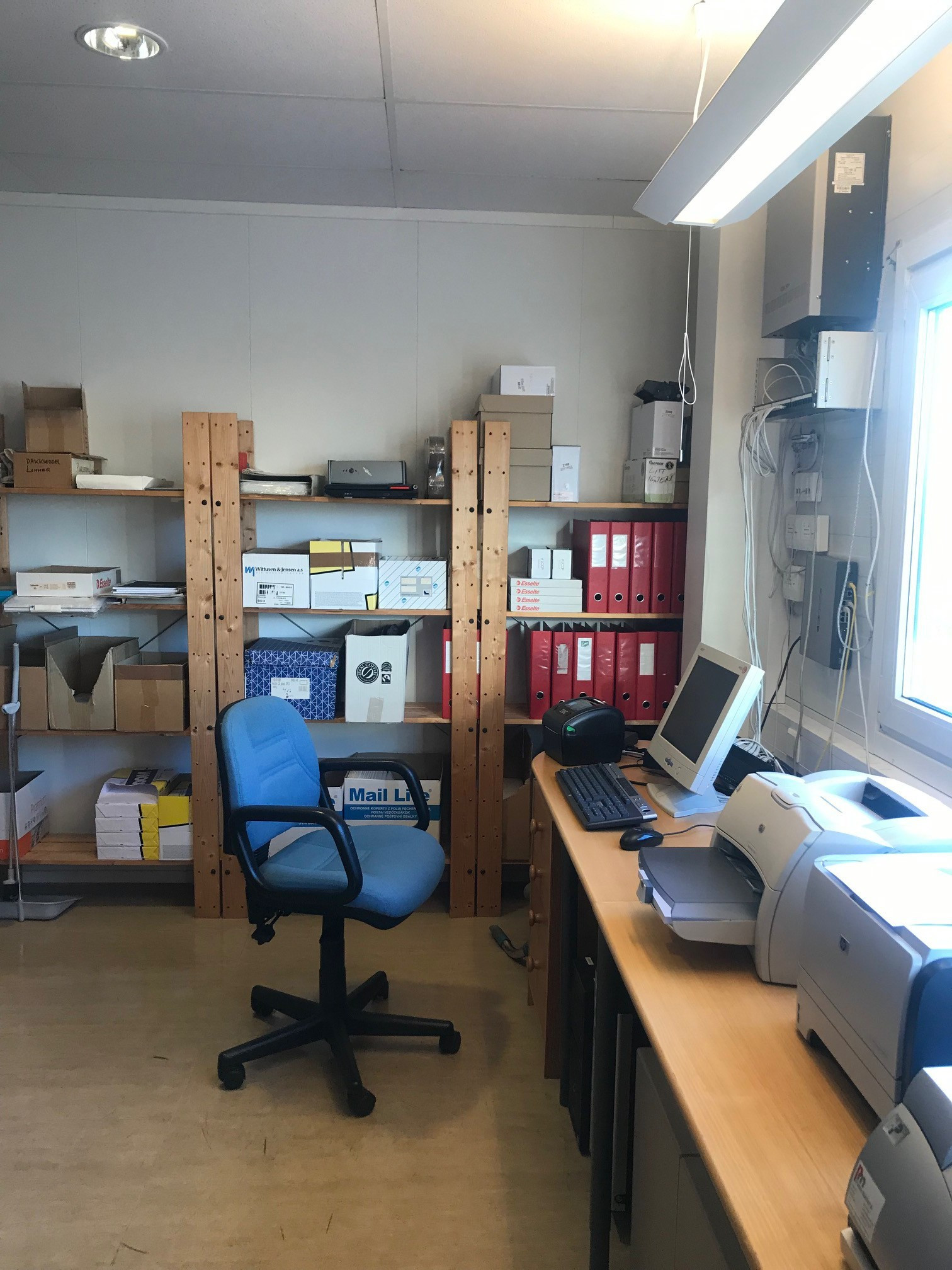 Kontor / arkivrom
