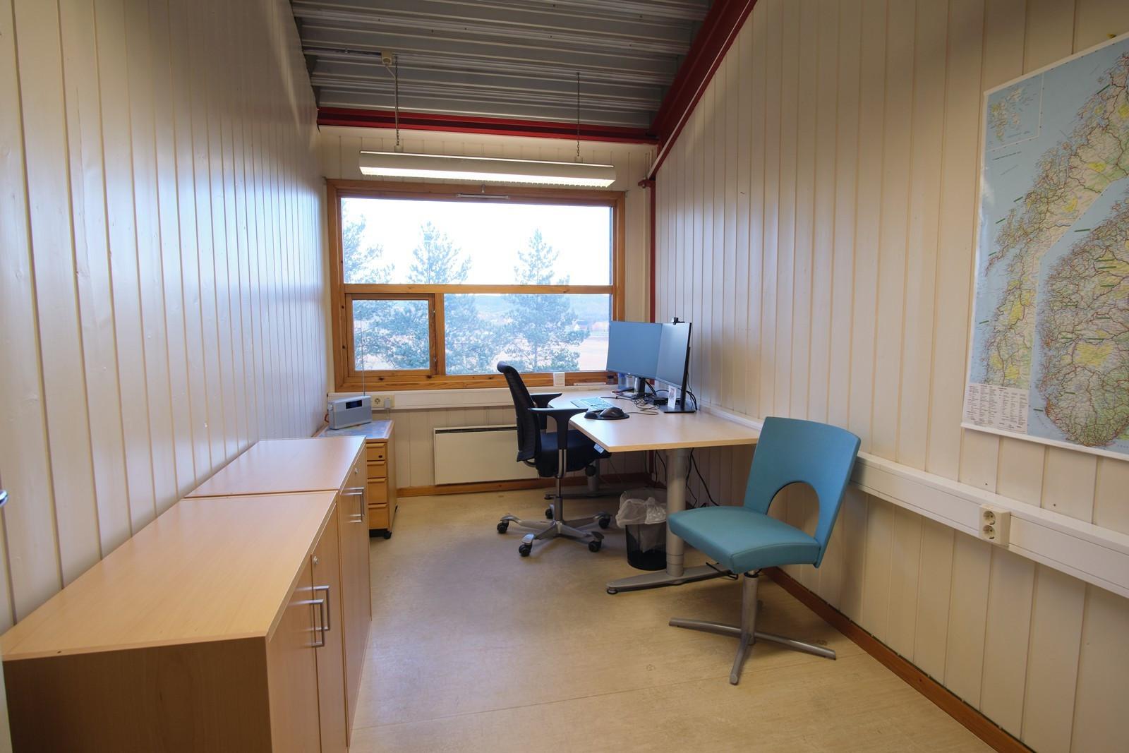 Enkeltkontor i tilknytning til kontorlandskapet