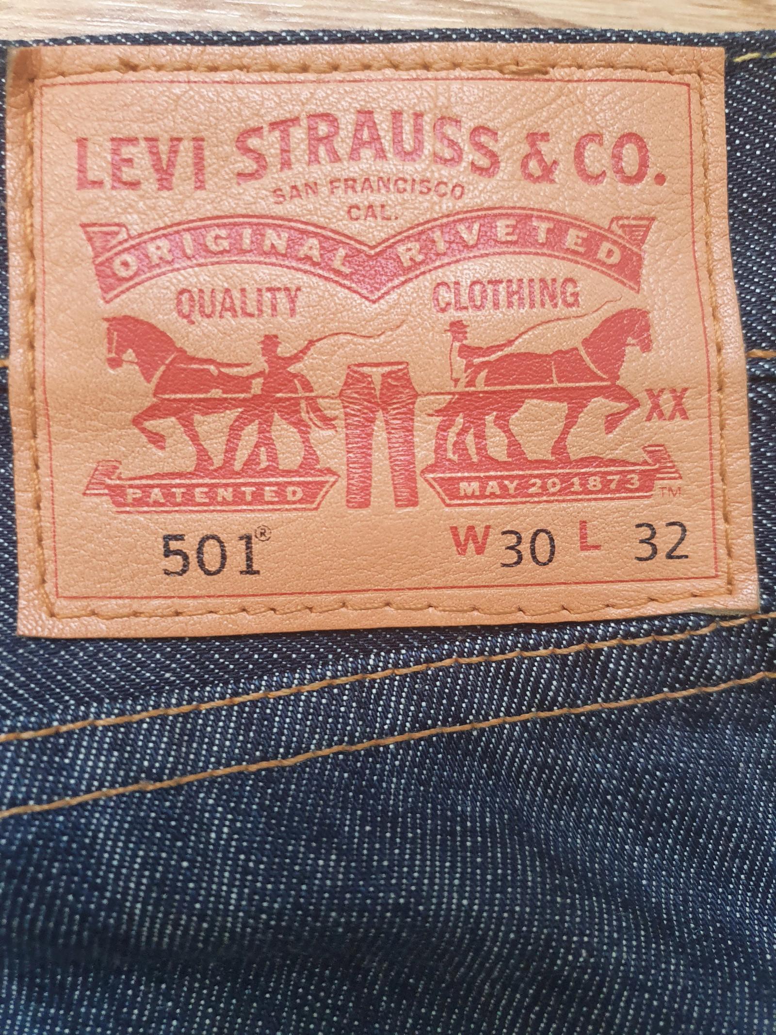 LEVIS 501 bukser str 3032   FINN.no