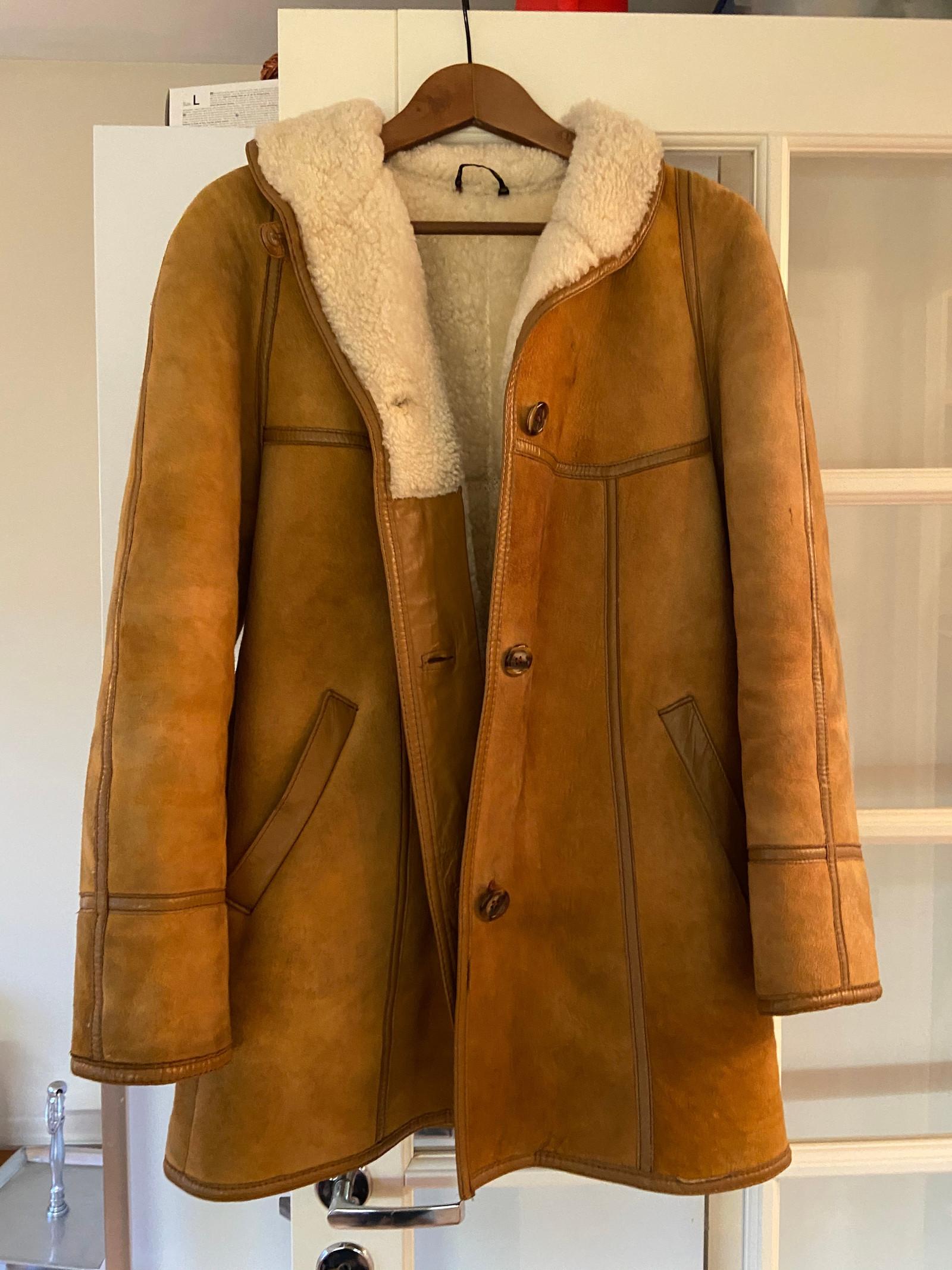 Aleksander semsket jakke fra 80 tallet | FINN.no