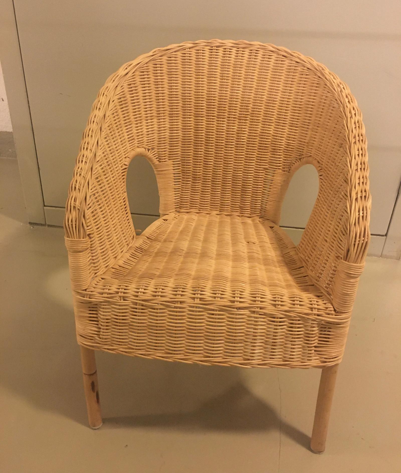 Fin Ikea Agen kurvstol i bambus mpute   FINN.no