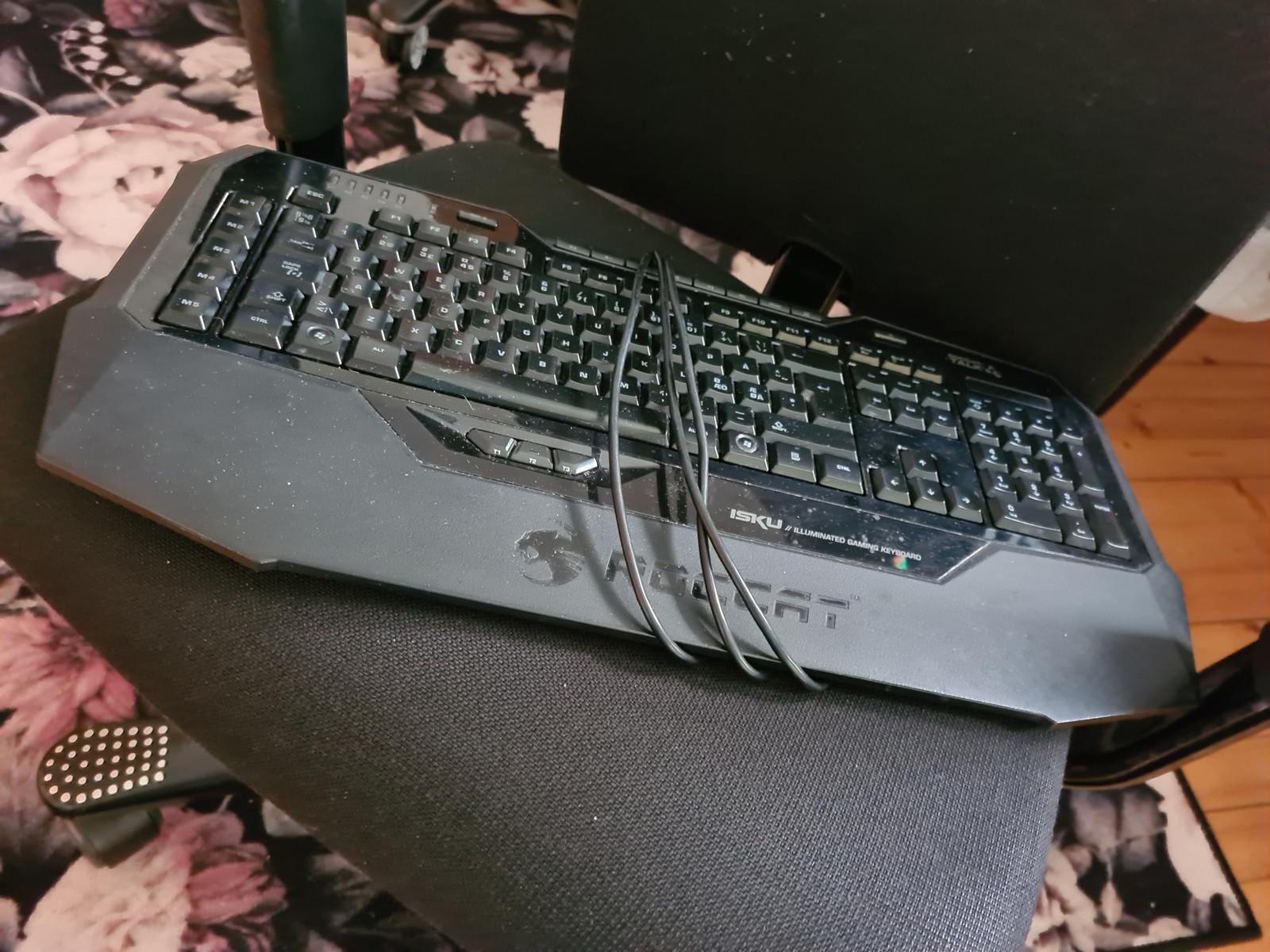 Lenovo tastatur med roller mouse pad | FINN.no